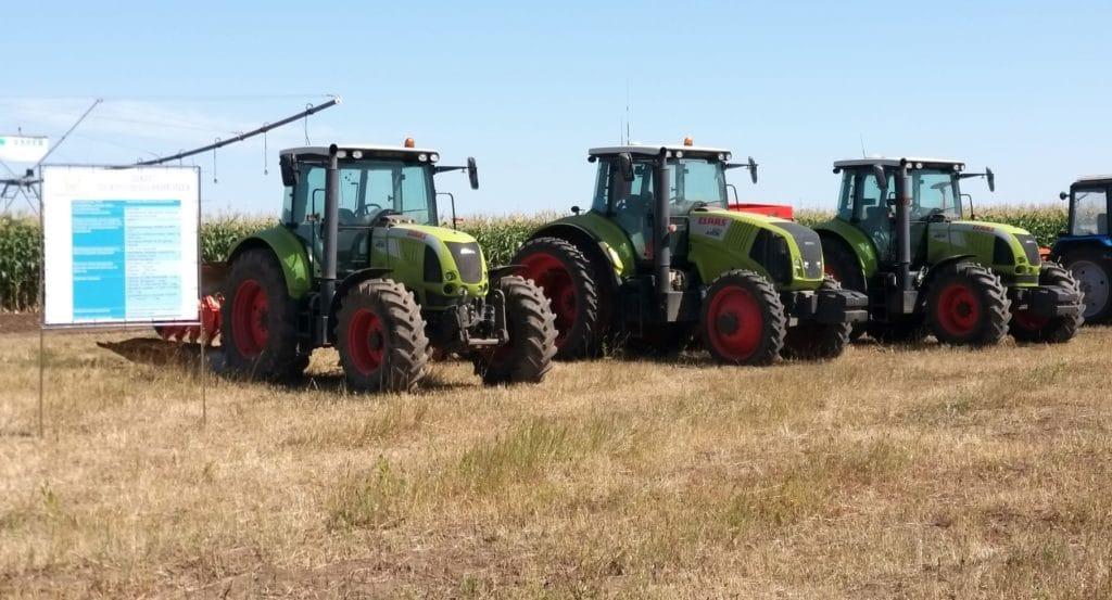 Тракторы CLAAS выходят на пашню