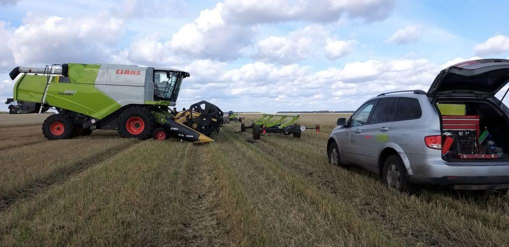 Как добиться минимальных потерь зерна